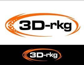#170 for Logo Design for 3d-rkg af arteq04