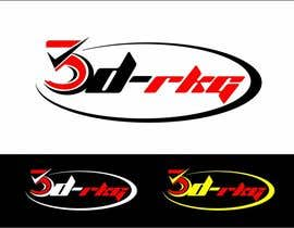 #133 for Logo Design for 3d-rkg af arteq04