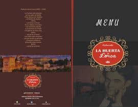 #10 for Diseño de carta para restaurante by santamariagv94