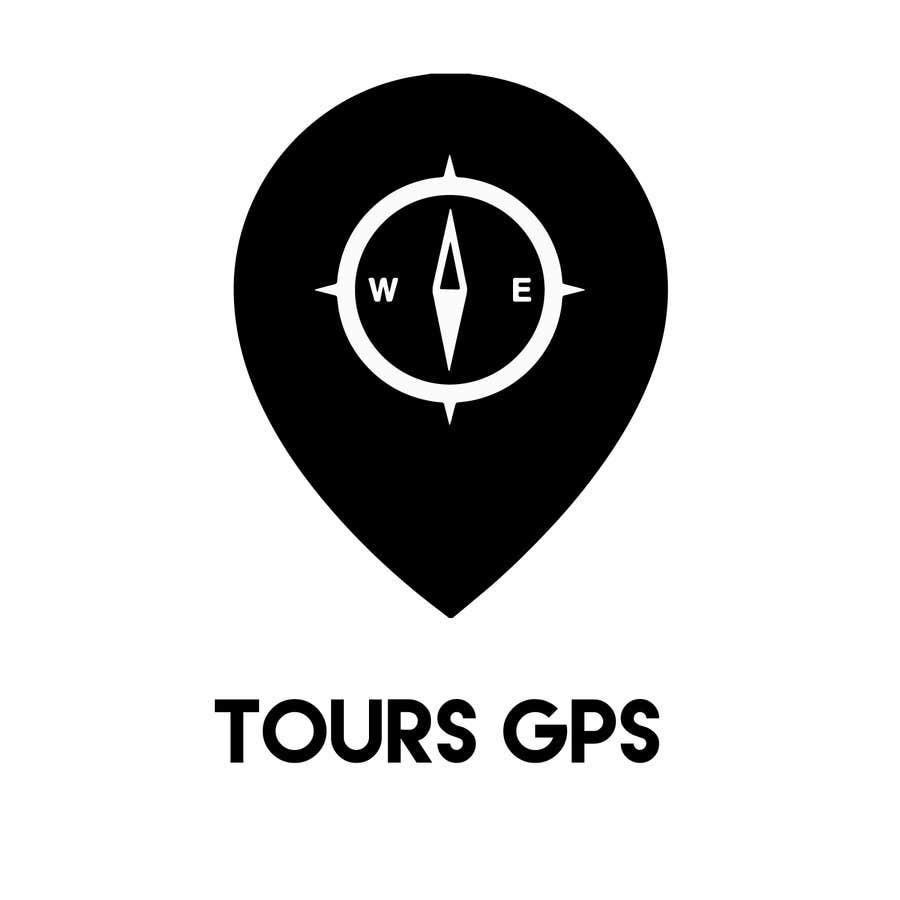 Kilpailutyö #                                        142                                      kilpailussa                                         To design a logo for Tours GPS