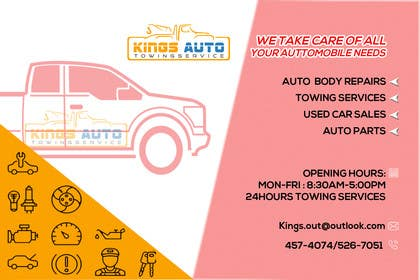 #10 for King's Auto Facebook Ad Banner by emranhossain56