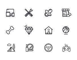 nº 8 pour Design some Icons par rivasfjl