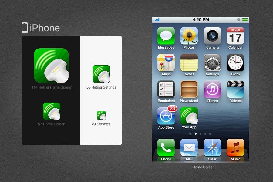Inscrição nº 70 do Concurso para Icon or Button Design for iSonographer Iphone App