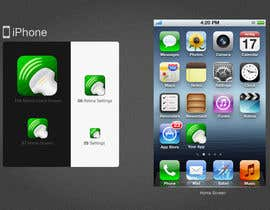 #70 untuk Icon or Button Design for iSonographer Iphone App oleh twocats