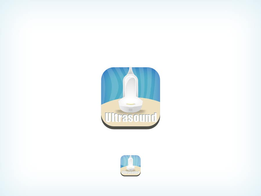 #89 for Icon or Button Design for iSonographer Iphone App by firmacomdesign