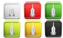 Icon or Button Design for iSonographer Iphone App için Graphic Design43 No.lu Yarışma Girdisi