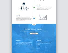 nº 17 pour Design Website with infographics for crypto currencies par rohan0571