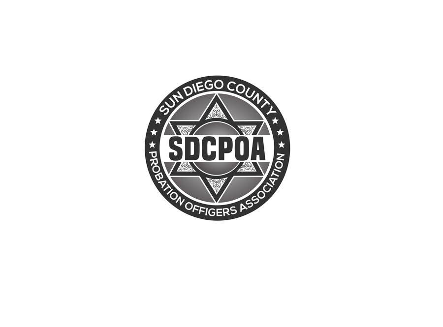 Proposition n°75 du concours Design a Logo for the SDCPOA the San Diego County Probation Officers Association