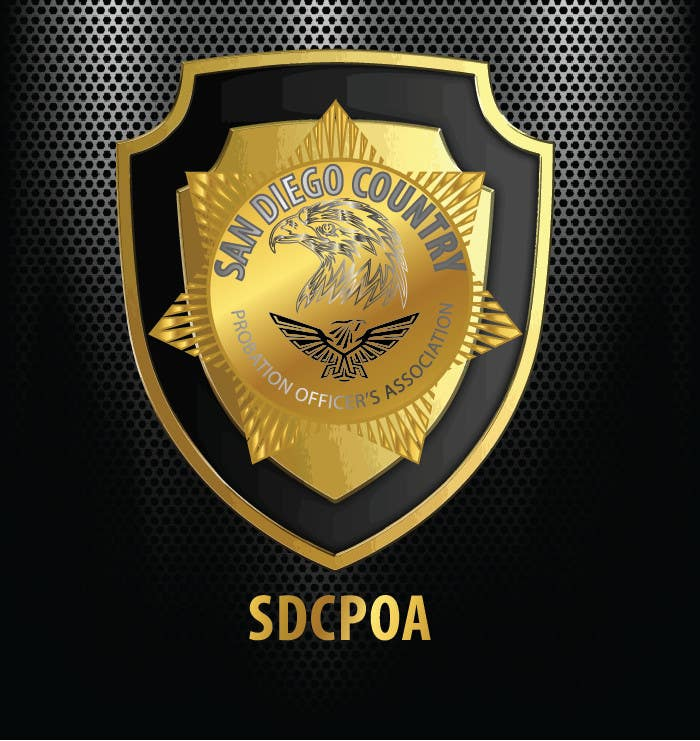Proposition n°87 du concours Design a Logo for the SDCPOA the San Diego County Probation Officers Association