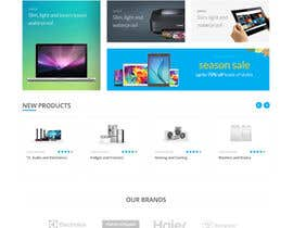 #47 for Re-design teh layout to our website homepage by tanveerk0956