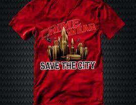 nº 106 pour Design a T-Shirt_Crime_Wear (save the city)v1 par adnanhabib9810
