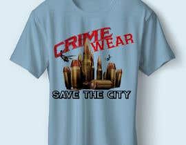 nº 109 pour Design a T-Shirt_Crime_Wear (save the city)v1 par adnanhabib9810