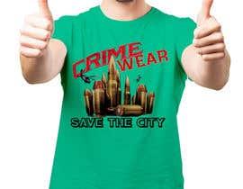 nº 110 pour Design a T-Shirt_Crime_Wear (save the city)v1 par adnanhabib9810