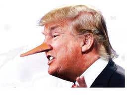 nº 6 pour Trump with long nose image par Jhrokon