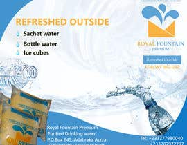 #21 for Design a Banner for drinking water by borun008