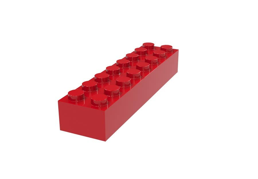 Proposition n°16 du concours 3D Rendering of a LEGO