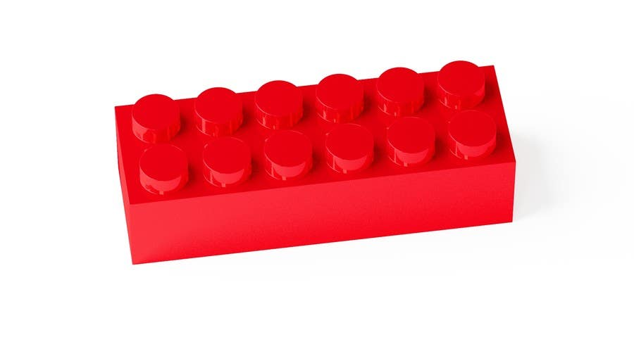 Proposition n°18 du concours 3D Rendering of a LEGO