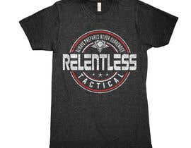 nº 44 pour Relentless Tactical is looking for cool T Shirt Designs! par greenpeacepait