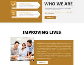 nº 13 pour Corporate Website Design Mockup par saidesigner87