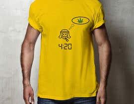 nº 76 pour Design a 420 T-Shirt. par mrramim1