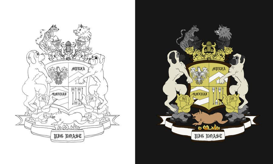 Proposition n°17 du concours Custom Medieval Coat of Arms