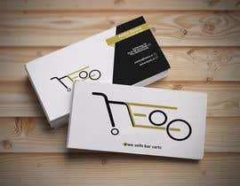 nº 112 pour Design new business card par sonyia