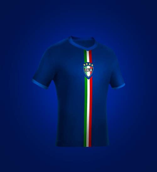 Kilpailutyö #                                        15                                      kilpailussa                                         Italy Jersey Shirt - Soccer Theme