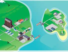#9 for Design of Isometric map / Game map by kousheff