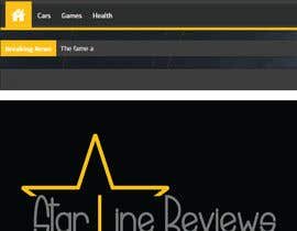 nº 8 pour Design a logo and a favicon for Star Line Reviews par vijaydasr