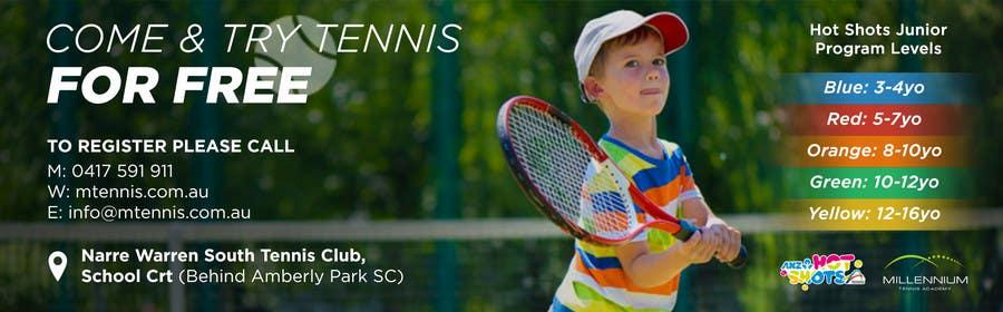 Entry 20 By Aleriks For Design A Tennis Banner Freelancer