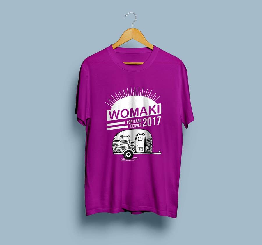 Proposition n°33 du concours WoMaKi T-shirt logo