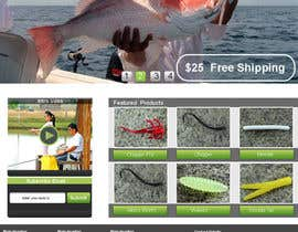 #5 untuk Design a Website Mockup for ecommerce fishing store oleh stylishwork
