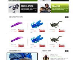 #33 untuk Design a Website Mockup for ecommerce fishing store oleh webmastersud