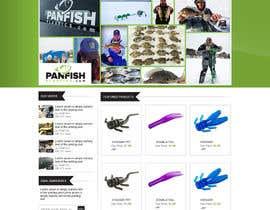 #13 untuk Design a Website Mockup for ecommerce fishing store oleh iquallinfo