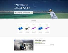 #14 untuk Design a Website Mockup for ecommerce fishing store oleh krasotina