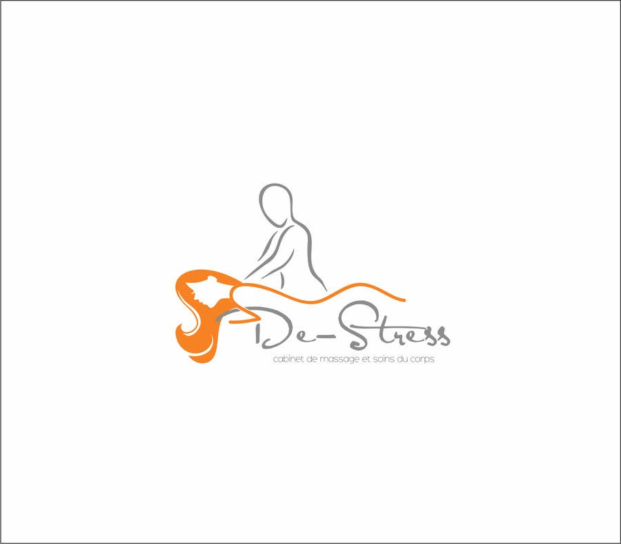 Kilpailutyö #                                        15                                      kilpailussa                                         Logo pour cabinet de massage et soins du corps