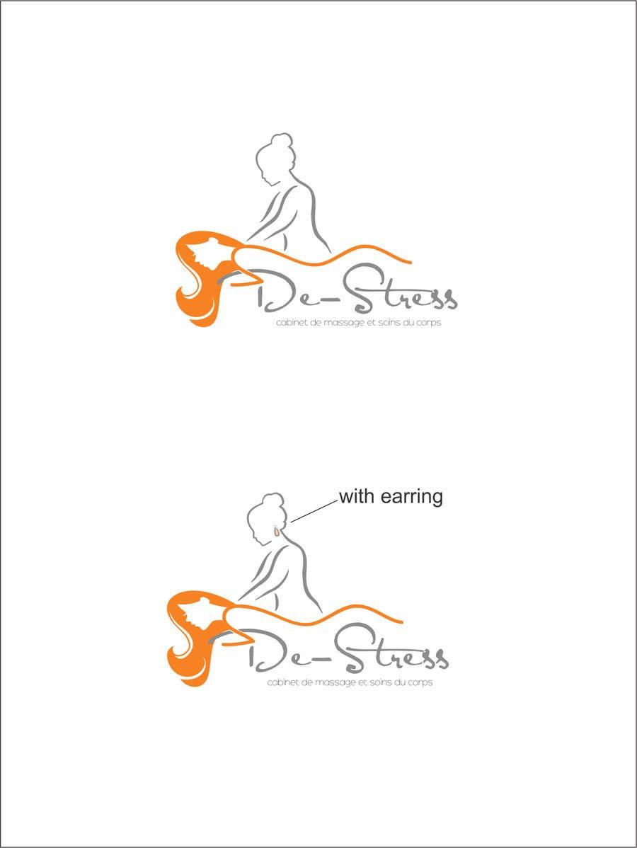 Kilpailutyö #                                        24                                      kilpailussa                                         Logo pour cabinet de massage et soins du corps