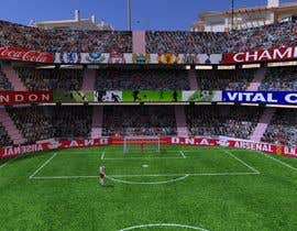 #10 for Do some 3D Modelling - Create A 3d Half Football Stadium by Burkii
