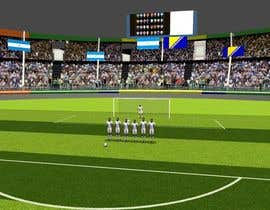 #6 for Do some 3D Modelling - Create A 3d Half Football Stadium by myonjinsol