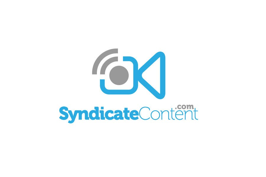 Inscrição nº                                         1                                      do Concurso para                                         Logo Design for Syndicate Content - www.syndicatecontent.com