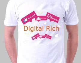 nº 12 pour Design a T-Shirt_Digital Rich par davidjohn9