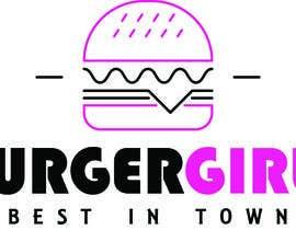 nº 244 pour Design a Logo Burger Girlz par arerol