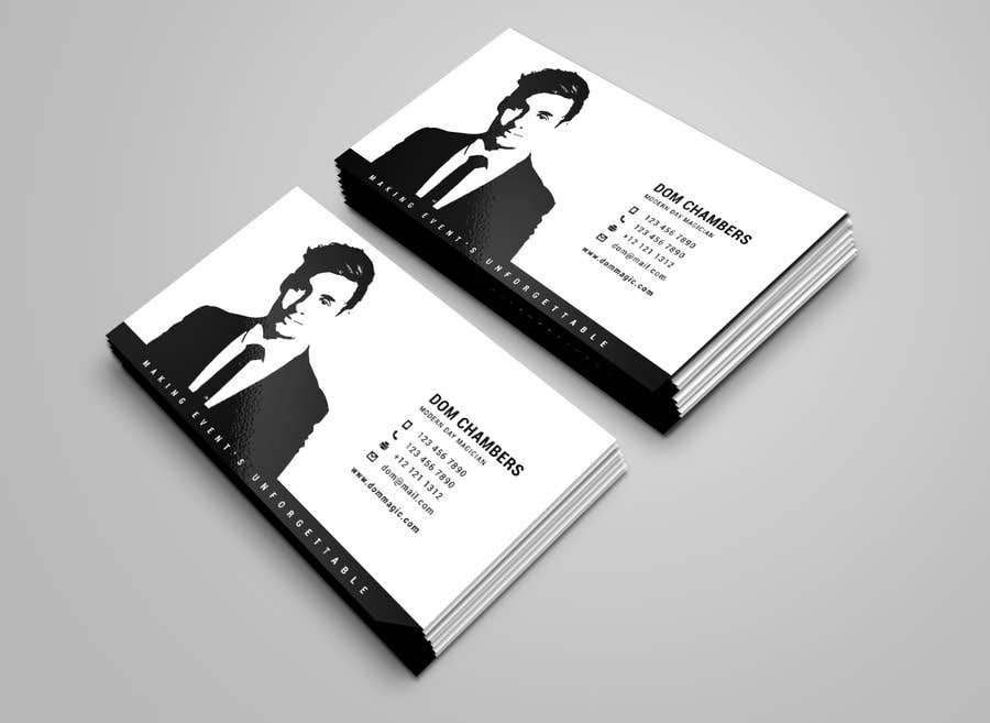 Entry #38 by alvinfadoil for Design some Business Cards - Magician ...