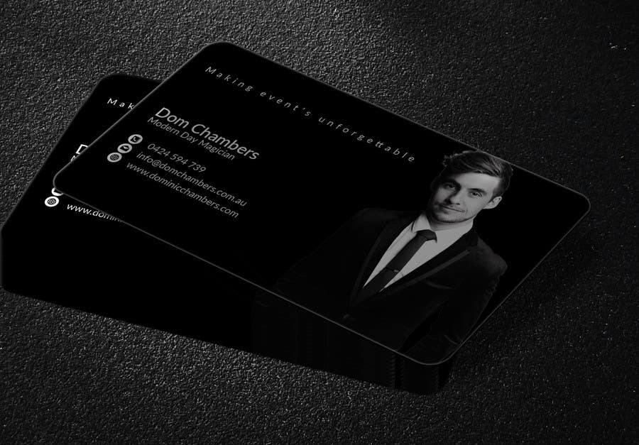 Entry #169 by mehfuz780 for Design some Business Cards - Magician ...