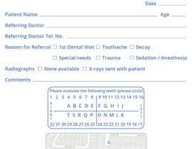 nº 5 pour Referral Pad for Pediatric Dental Practice par leiidiipabon24