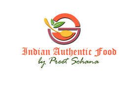 "nº 28 pour Logo for ""Indian Authentic Food By Preet Sohana"" par praveenlight"