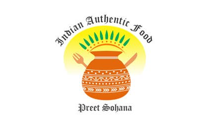 "#15 for Logo for ""Indian Authentic Food By Preet Sohana"" by vinayagraphics"