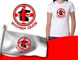 Nro 58 kilpailuun Wolf & Shield Design Logo for t-shirts, flags, mugs etc käyttäjältä mrjulius111