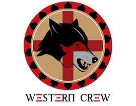 Nro 66 kilpailuun Wolf & Shield Design Logo for t-shirts, flags, mugs etc käyttäjältä Gsrikumar