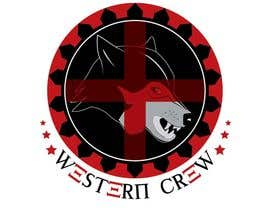 Nro 89 kilpailuun Wolf & Shield Design Logo for t-shirts, flags, mugs etc käyttäjältä Gsrikumar